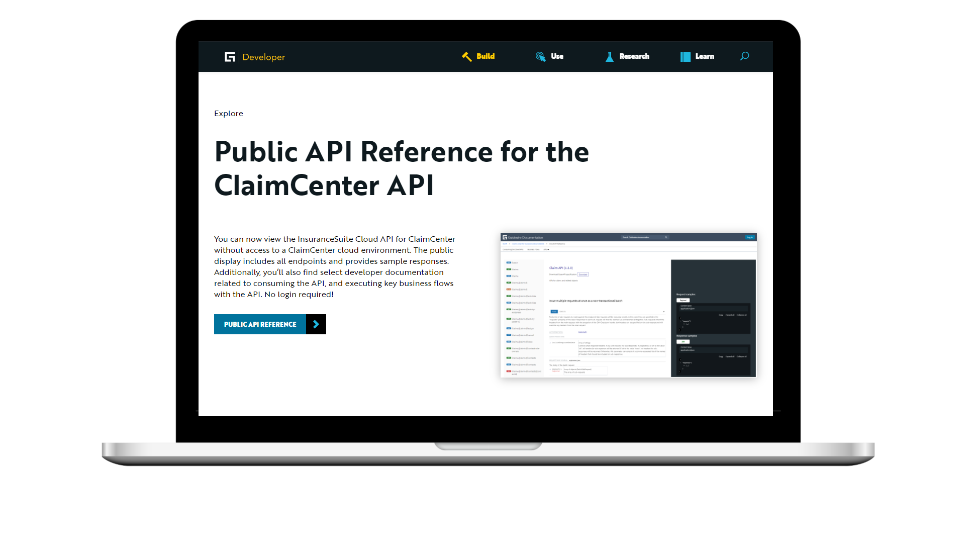 Explore the New InsuranceSuite API Reference for ClaimCenter